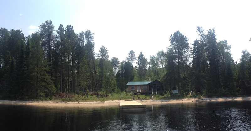 Sandbeach Lake Outpost, Manion Lake Camp, Ontario Canada