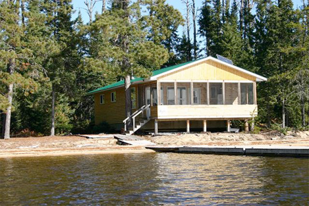Pettit Lake Outpost, Manion Lake Camp Ontario Canada