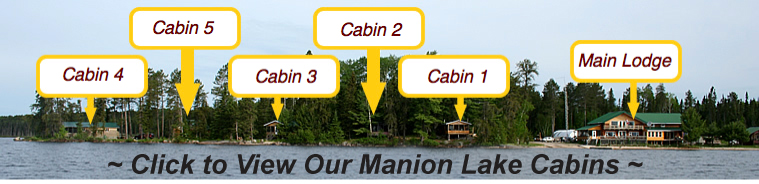 click to view our manion lake cabins