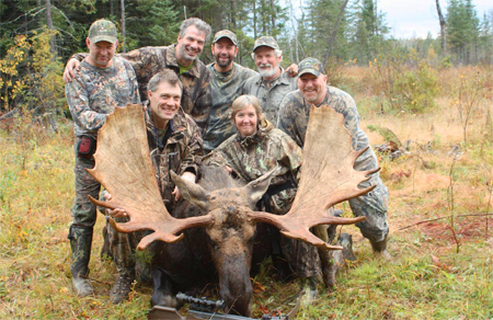 Archery Moose Hunting at Manion Lake Camp, Ontario Canada